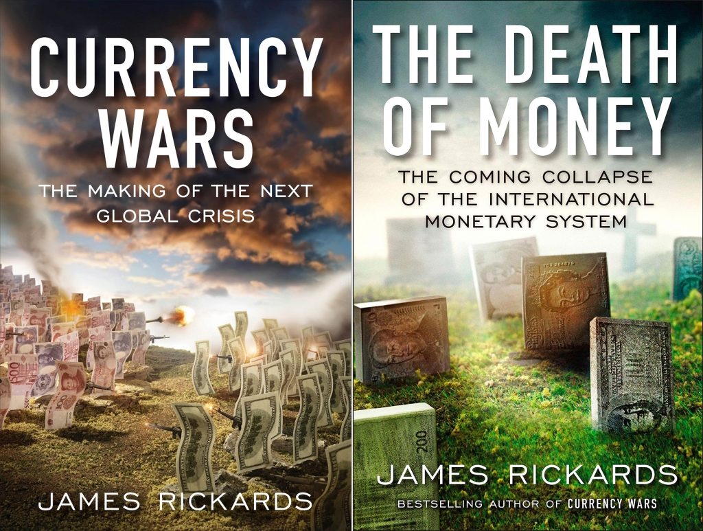 Currency Wars and The Death of Money book covers