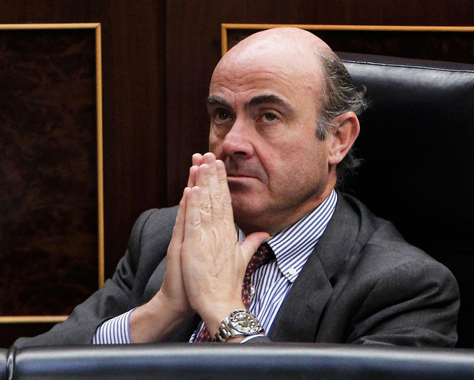 Luis de Guindos, minsitro de Economía