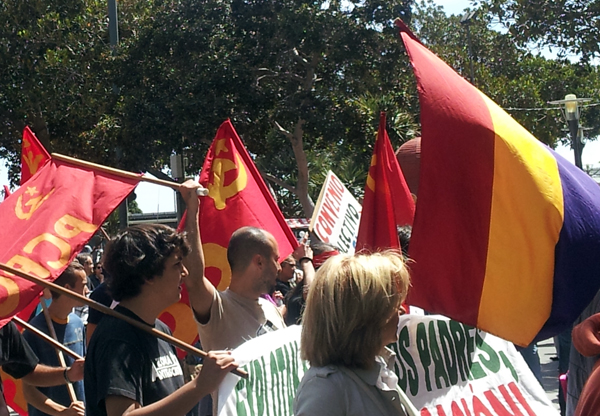 Workers Day Protests in Gran Canaria